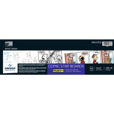 Canson Fanboy Comic Strip Boards