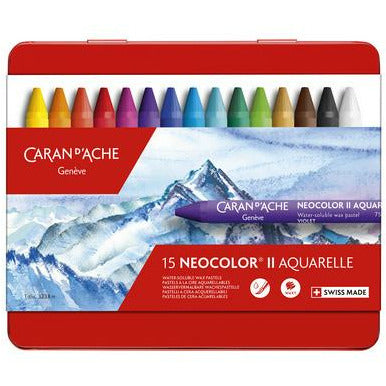 Caran d'Ache NEOCOLOR II Watersoluble Wax Pastel Sets