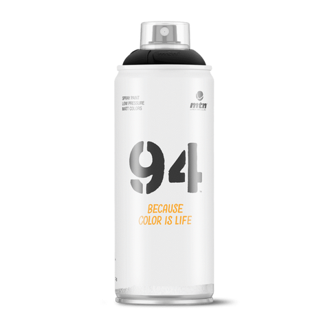 MTN 94 Spray Cans (Black Colors)