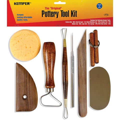 Kemper Original Pottery Tool Kit