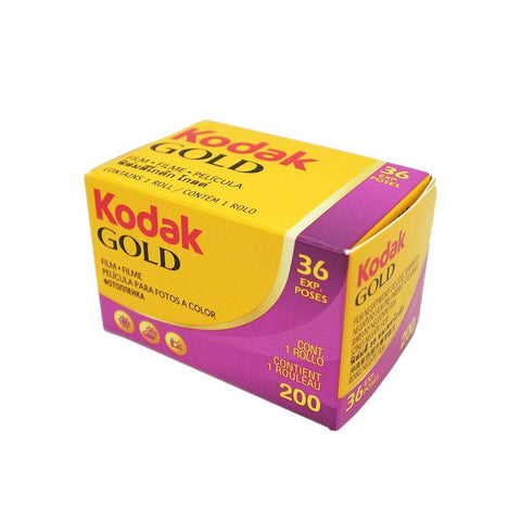 Kodak Gold 200 Color Negative Film, 35mm