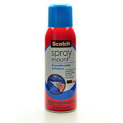 Scotch Spray Mount Repositioning Adhesive
