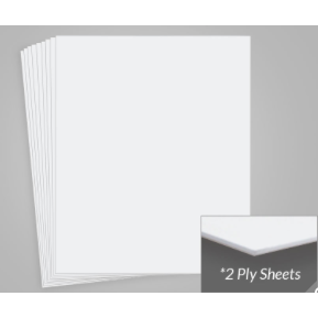Archival Methods Bright White - 2 Ply Museum Board