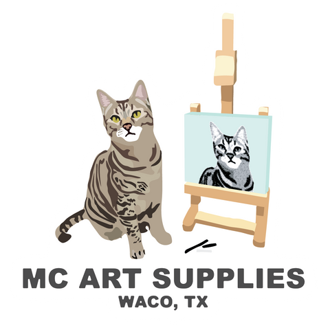 MC Art Supplies Stickers
