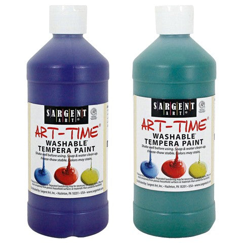 Sargent Art Art-Time Washable Tempera Paint