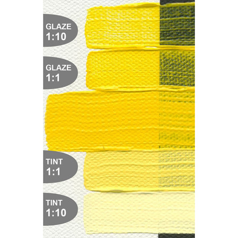 Golden Heavy Body Acrylic Paints (Yellow Colors)
