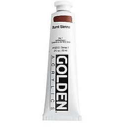 Golden Heavy Body Acrylic Paints (Brown & Earth Colors)