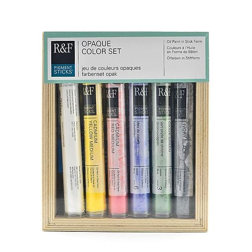 R&F Handmade Paints Pigment Stick Set