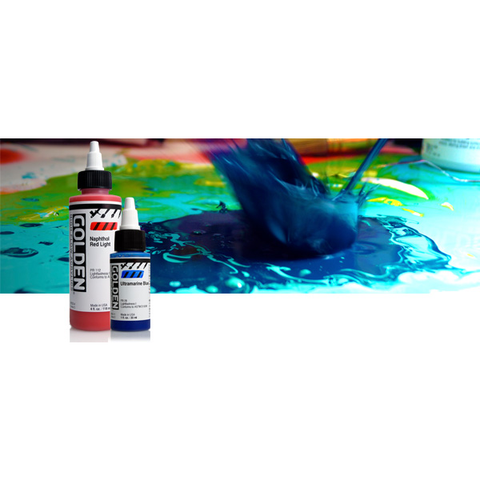 Golden High Flow Acrylic Paints