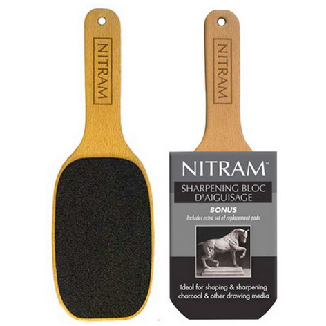 Nitram Charcoal Sharpening Bloc