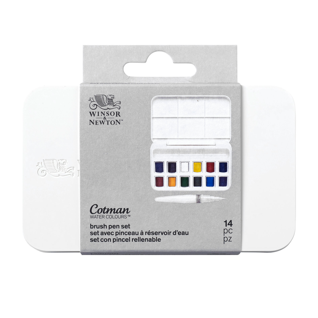 Cotman Watercolour Brush Pen Set