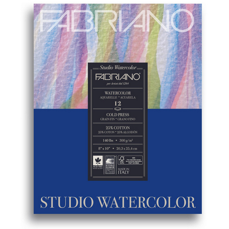 Fabriano Studio Watercolor Pad