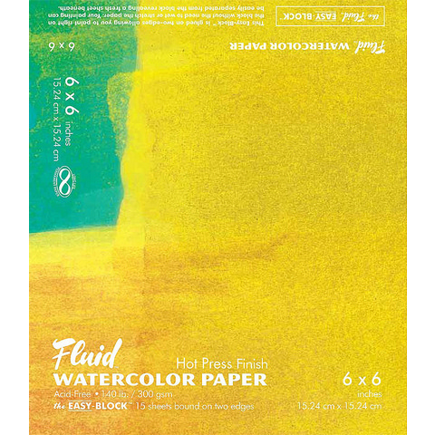 Fluid Watercolor Blocks