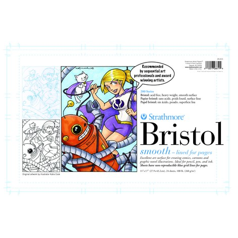 Strathmore 200 Series Sequential Art Bristol Pad