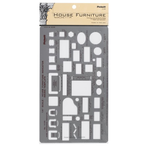 Pickett House Furniture Template