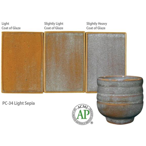 Amaco Potter's Choice Glazes