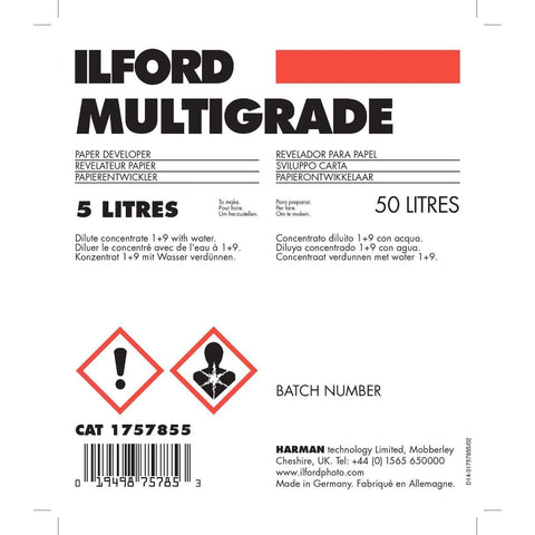 Ilford Multigrade Paper Developer