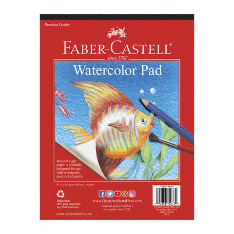 Faber-Castell Watercolor Paper Pad