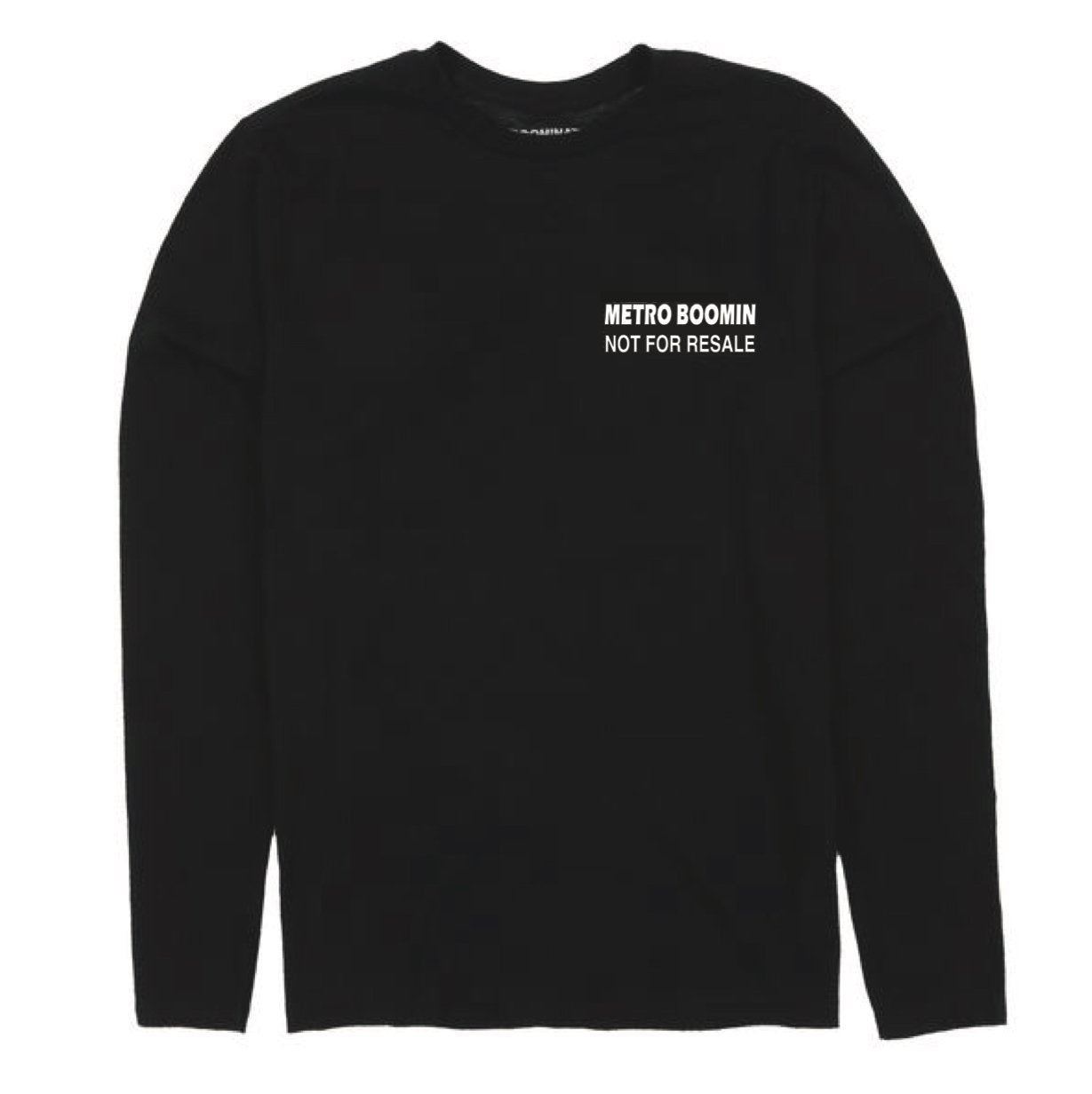NOT FOR RESALE LONG SLEEVE T