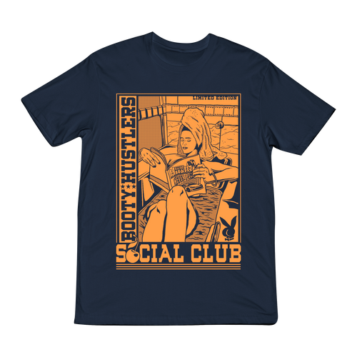 Social Club Harbor Blue T-Shirt