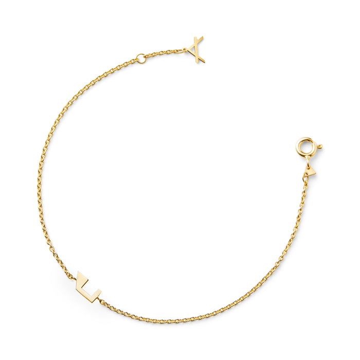 NEW!!! 14CT YELLOW GOLD BRACELET COOGEE.X - Delicate Jewellery Australia
