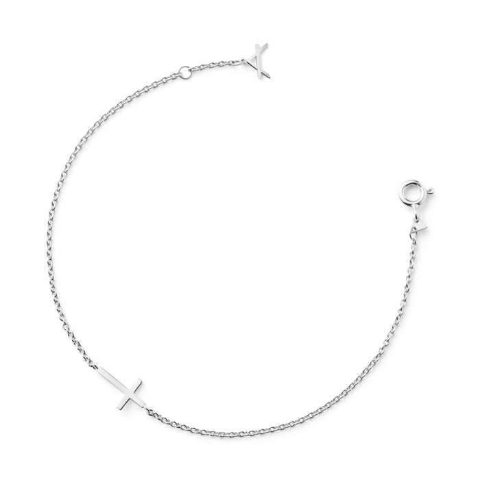 18 CARAT WHITE GOLD BRACELET FAIRLIGHT - Delicate Jewellery Australia