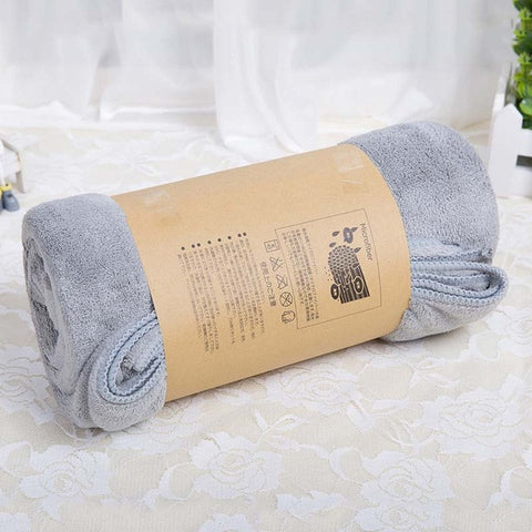 -Microfiber Bath Towel-