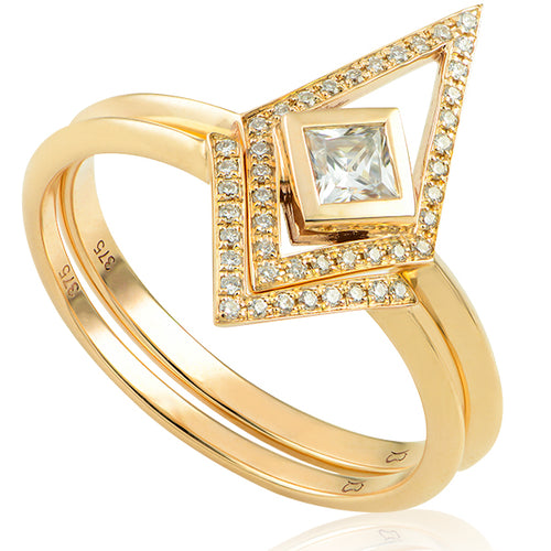 The Thea Diamond Ring