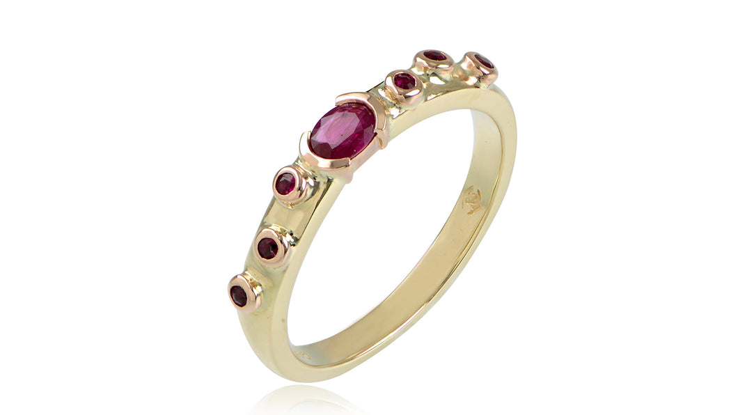 The Tortuga Ruby Ring