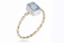 The Laguna in Aquamarine Emerald Cut