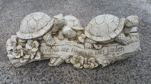 Friendship Turtles Concrete