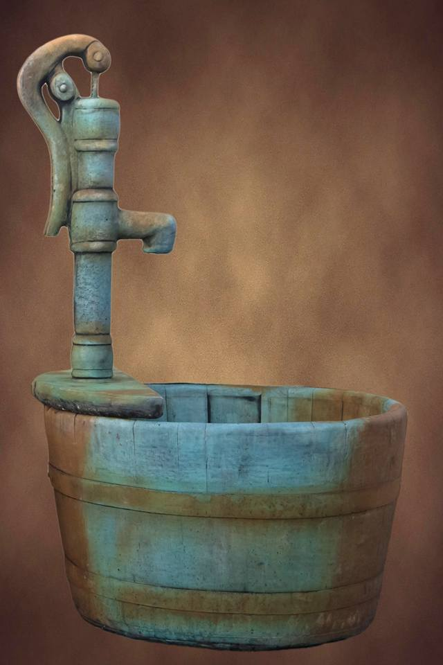 Barrel Fountain