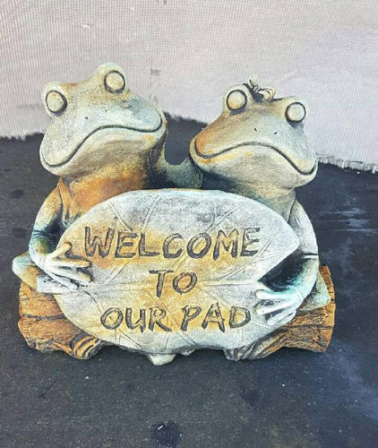 Welcome To Our Pad Frog