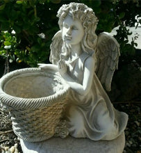Praying Angel With Pot Planter/Statue