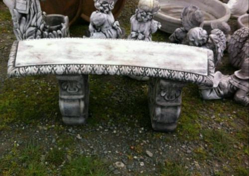 Fancy Curve Bench Grey