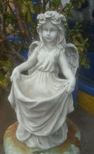Angel Holding Dress Statue