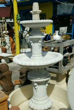 2 Tier Classic Fountain With Pond and Surround