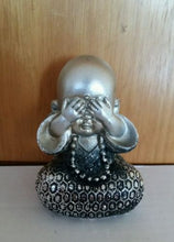 Small Buddha Covering Eyes