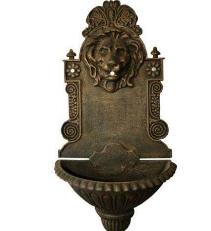Hanging Lion Wall Fountain