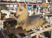 Large Laying Down German Shepherd 127cm
