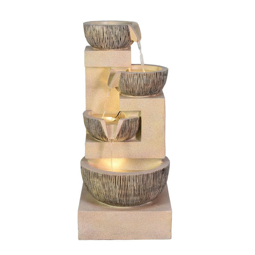 Medium 4 Tier Bowls Water Fountain G5320006A