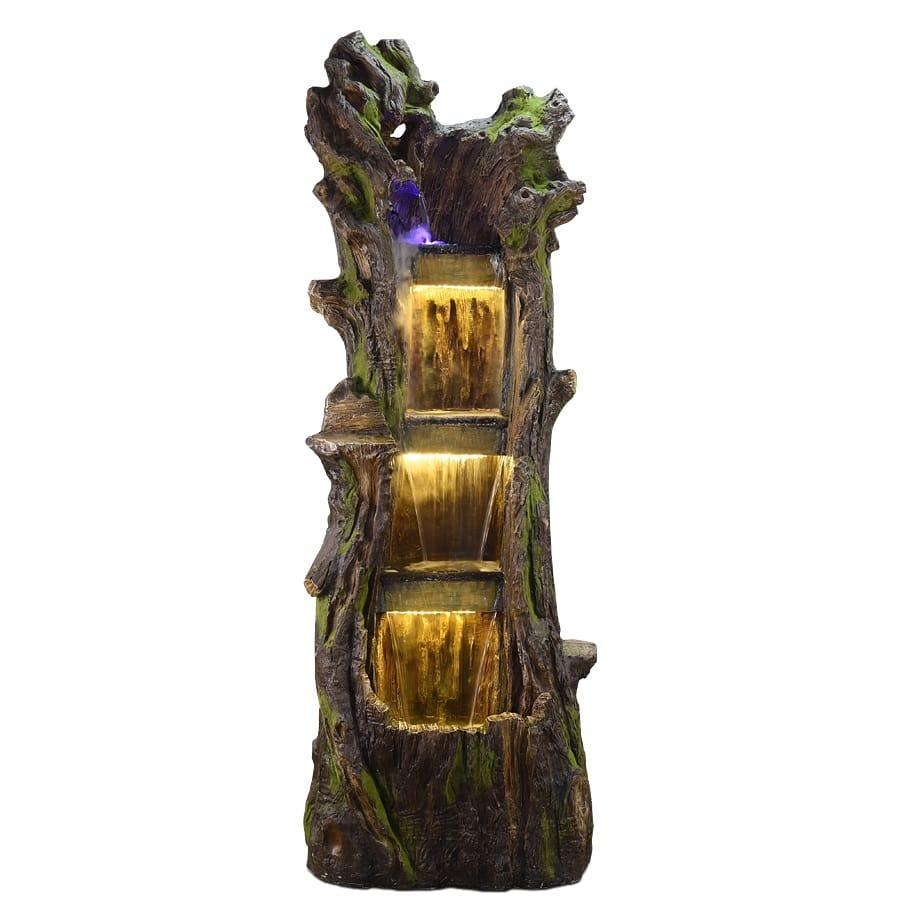 Large 3 Tier Rock Water Fountain G53708