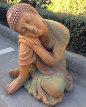 Large Sleeping Buddha Concrete