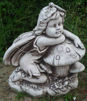 Fairy On Mushroom Thinking