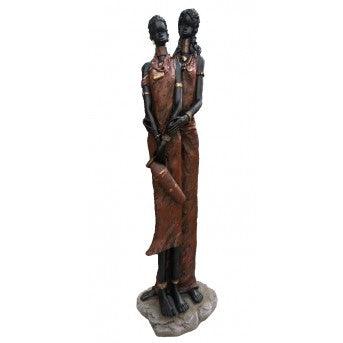 Two African Ladies (104cm)