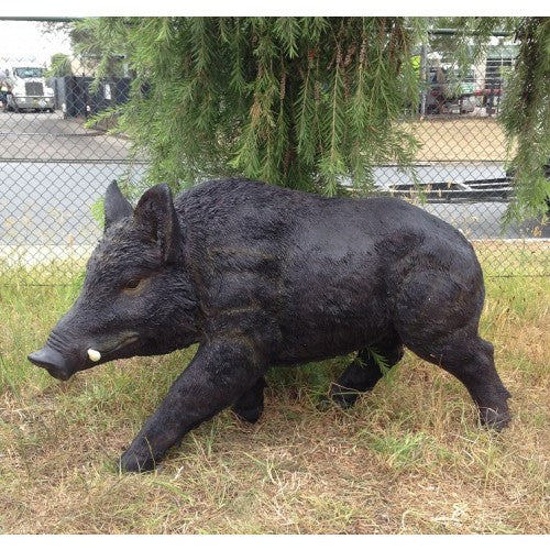 100cm Jumbo Boar Walking Fiberglass