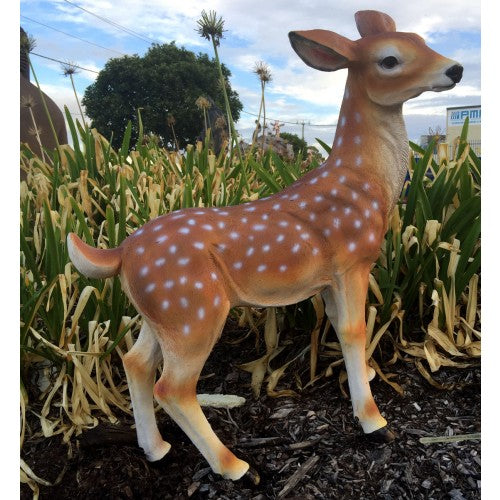80cm Female Deer Fiberglass