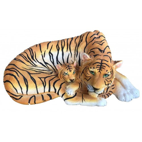 46cm Tiger with Baby Fiberglass