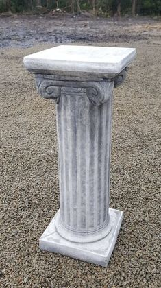 Narrow Column (square top)