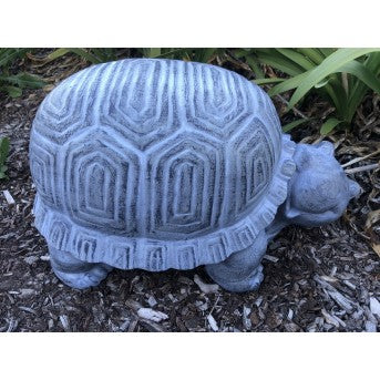 Turtle Stool Grey (46cm)
